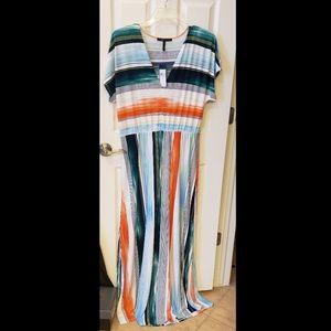 """""""New"""" Multi Color Maxi Dress"""
